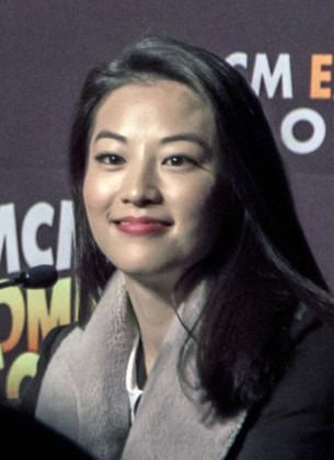arden cho london comic con oct teen wolf panel